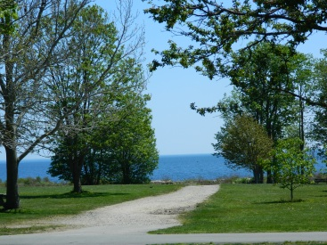 View of Long Island Sound from Harkness Memorial State Park