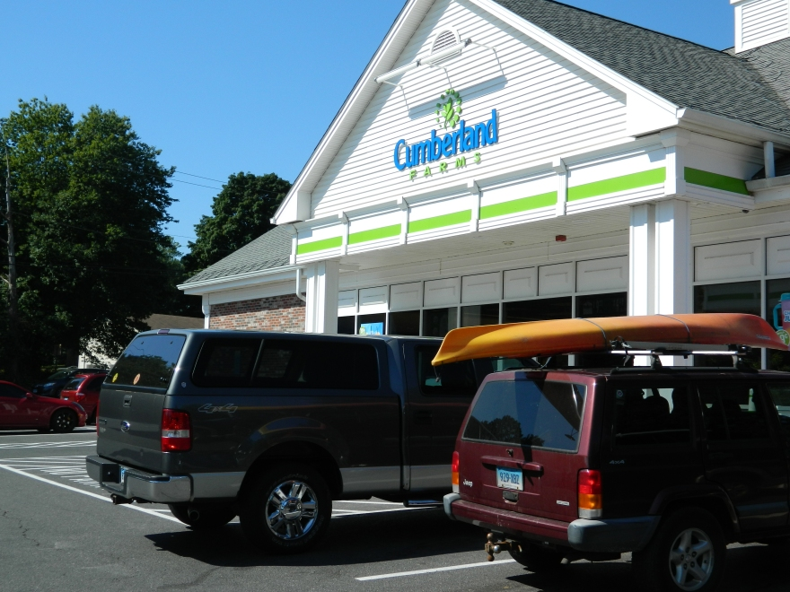 Cumberland Farms at the Five Corners of Ellington Connecticut.