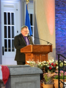 Mayor Donald Trinks.