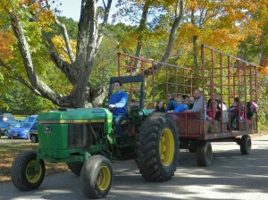 Another hayride at Buell's.