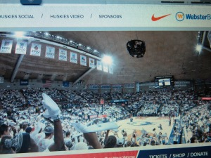 A full house at Gampel 2/13/2017 when for UConn Women's Basketball.