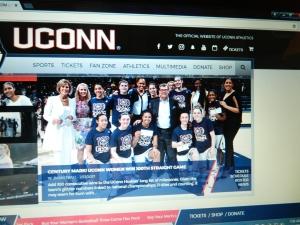 From UConn website